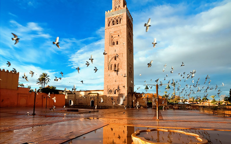 Morocco, is a good place.