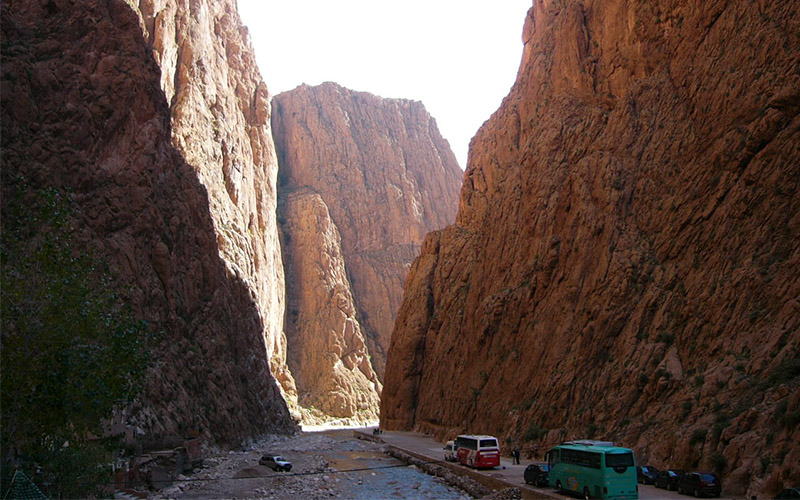 Canyon Fry City of Morocco
